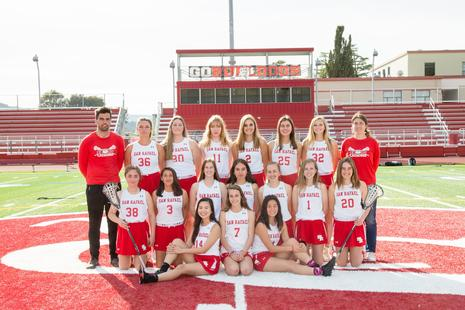 2019 Girls Lacrosse Team